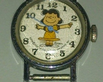 United Feature Syndicate Peanuts Lucy Wrist Watch No Band