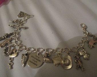 Delux Supernatural 'Times it Made us Laugh' Charm Bracelet (OOAK)