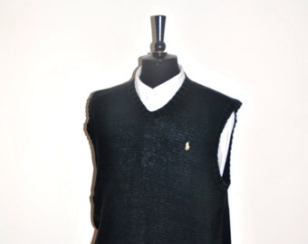 Ralph Lauren Vest Black, sz. L