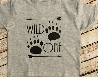 Wild One boys shirt