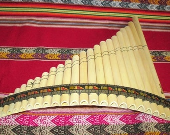 Pan Flute Ramos 22 Pipes - From Peru - Item in USA - Case Included