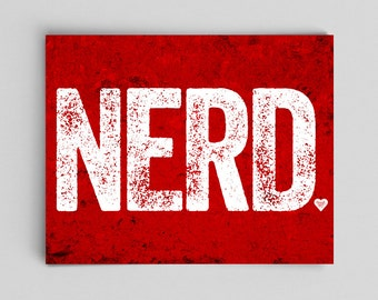 Nerd Gift Ideas Talk Nerdy to Me Nerd Art Typographic Print Nerd Poster Typography Poster Nerdy Prints Nerdy Poster Nerdy Baby Gifts Geeky