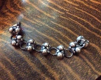 Sterling Silver Taxco Mexico bracelets