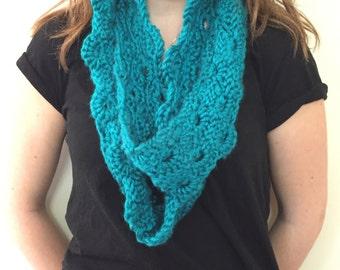 Large Crochet Scarf
