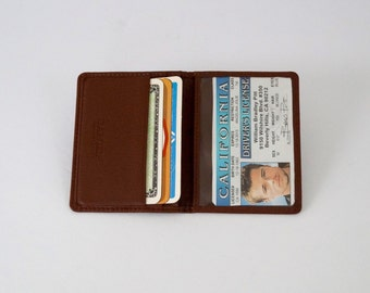 Wallet Leather Card or Car Drivers Wallet