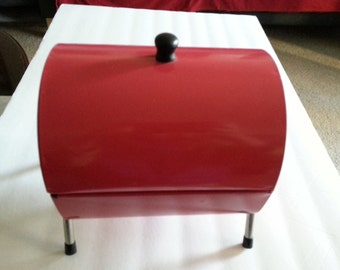 Metal Miniature Barbecue Style Storage Container