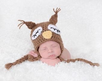 Crochet Sleepy Owl