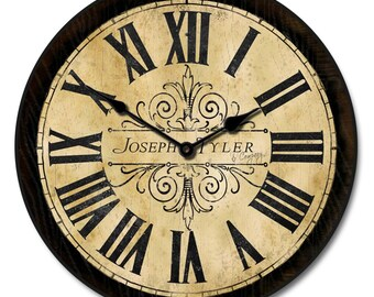 Tuscan Villa Wall Clock
