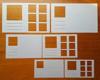 Organize This!   6 stencil set