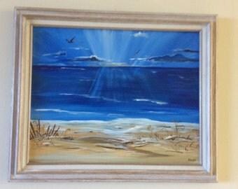 Morning Sunrise 16 X 20  acrylic on canvas