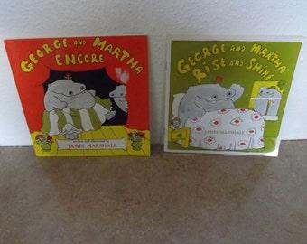 Two George and Martha Childrens Books