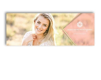 SALE HALF OFF Photography Facebook Timeline Cover Template - Glam - 1266