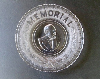 Sale 1881 James A. Garfield Memorial Plate