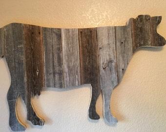 Big Barnwood Cow
