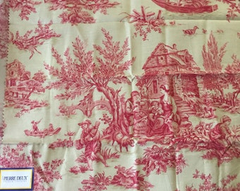 French Country Pierre deux Kravet toile Aumont Rose