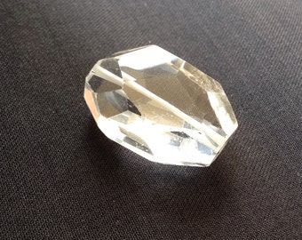 Faceted Natural crystal Pendant #556700