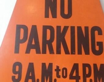 Chicago No Parking Sign, Bureau of Sanitation