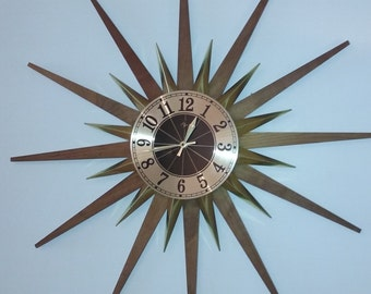 Elgin Starburst Clock, Atomic Clock