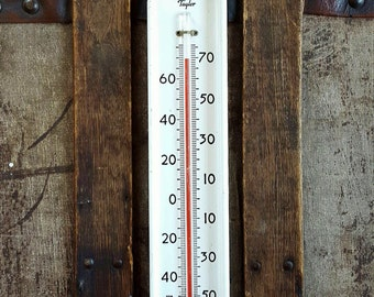 Vintage Taylor Refrigerator/Cold Weather Thermometer
