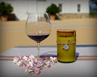 Pinot Noir & Cherry Blossom Candle