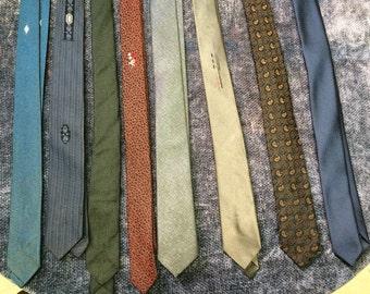 9 super skinny ties
