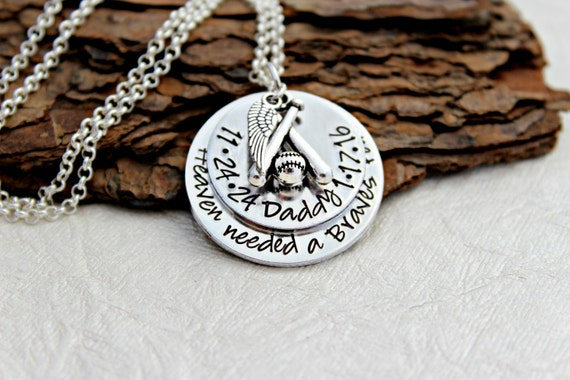 memorial jewelry dad memorial necklace loss by