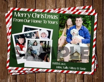 Christmas Card, Printable & Personalized