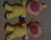 Olimar and Louie Plushes