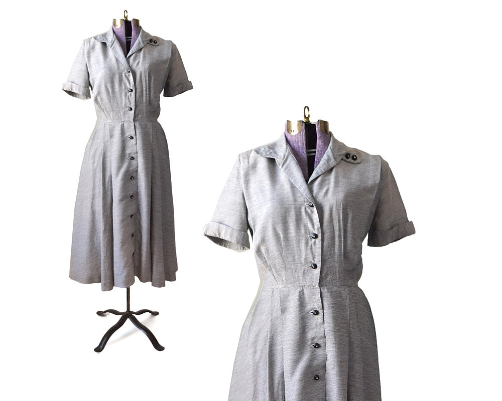 1940s dress 40s dress rayon dress womens clothing vintage