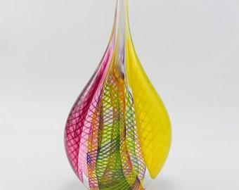 Hand Blown Glass Sculpture
