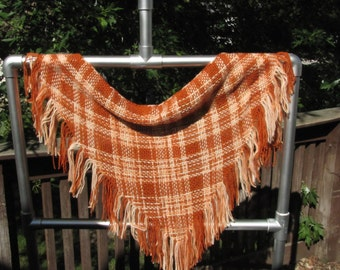Hand-woven Triange Scarf