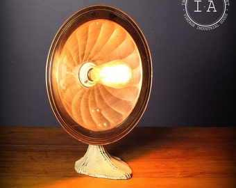 Vintage Art Deco Wall Mount Heat Lamp Desk Lamp