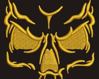 skull - Machine Embroidery design