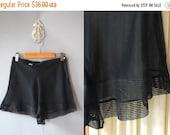 30%OFF 1930s Sheer Tap Pants / Noir Tap Shorts / 30s