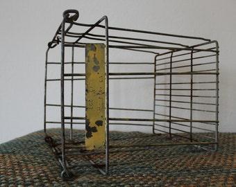 SALE - *20% OFF* Vintage Industrial Large Metal Wire Basket