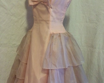 Vintage 1950's prom/party dress