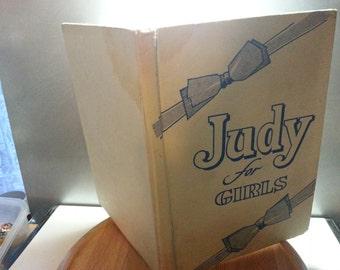 Judy for girls annual, fair condition