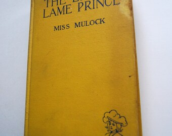 Vintage Book The Little Lame Prince