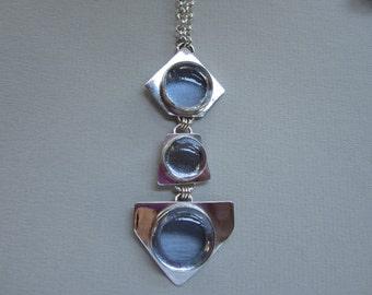 Glass Cabachon Pendant