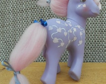 Love Melody - Perfume Puff Style - Custom Rehair -  G1 TAF My little Pony - Happy Valentines Day
