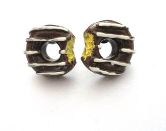 Earrings Earstud Donut