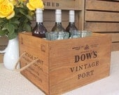 Wooden crate storage - Dow's Vintage Port  - kitchen - rustic style