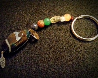 Thankful Abundance Keychain
