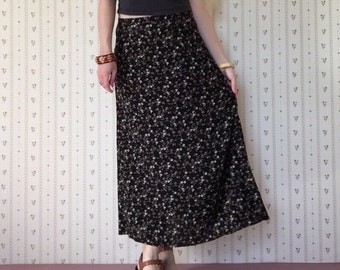 Floral Springs maxi skirt