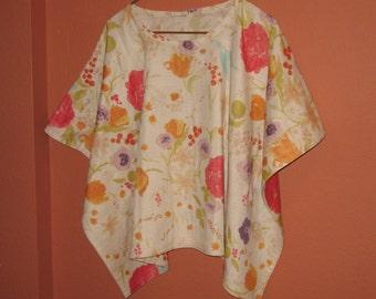 Poncho Nani Iro Kokka Cotton Double Gauze Fabric