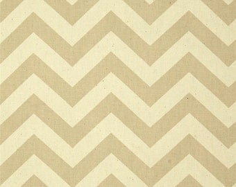 Khaki and Natural Home Dec Fabric - One Yard - Premier Prints Fabric
