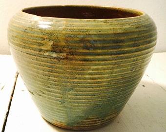 hand made ceramic bowl planter base