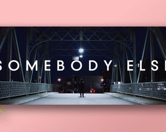 The 1975 - 'Somebody Else' Banner Poster