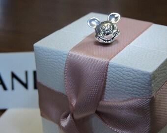 Pandora Sterling Silver Mickey Mouse Face Head Portrait Charm