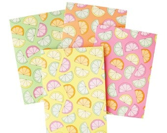 Greeting card: Citrus Slice, 4 colours available